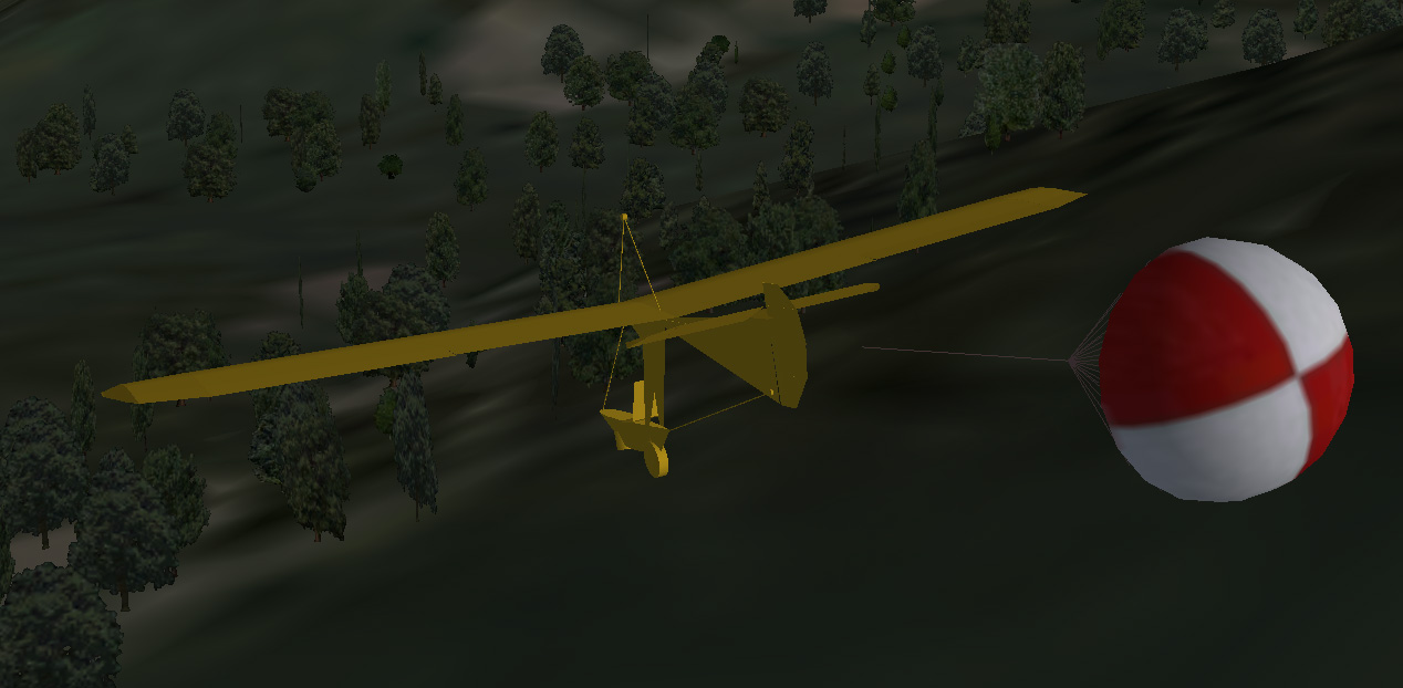 Simulator Models For Goat Bug Gliders Airchair